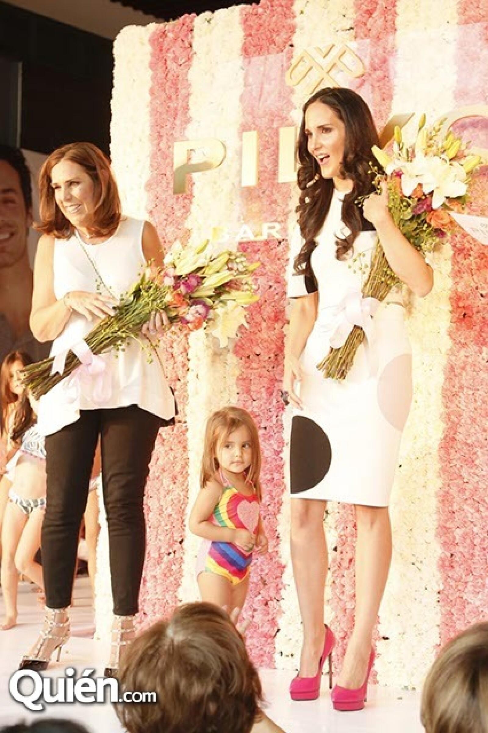 Pily Quiroga y Valeria López