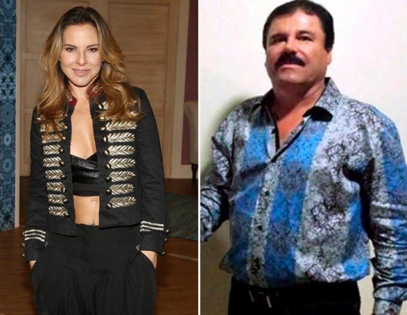 Estas son las posturas de los famosos tras revelarse la relación que mantuvieron la actriz y el narcotraficante más buscado del mundo.