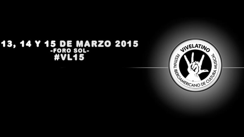 El logo oficial de la décimo sexta edición décimo sexta edición del Festival Iberoamericano de Cultura Musical Vive Latino