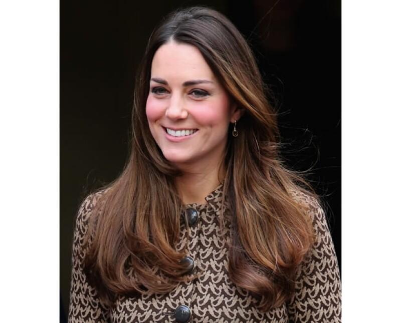 La Duquesa de Cambridge ganó una `batalla´ más, venciendo a celebs como Beyoncé, Jennifer Aniston y Kim Kardashian en la categoría de mejor pelo.