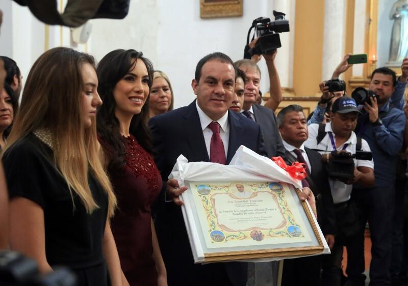 Cuauhémoc Blanco Gobernador