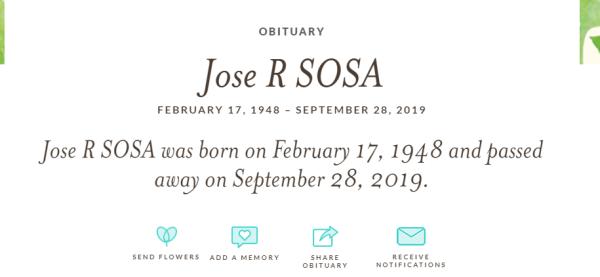 Obituario José José
