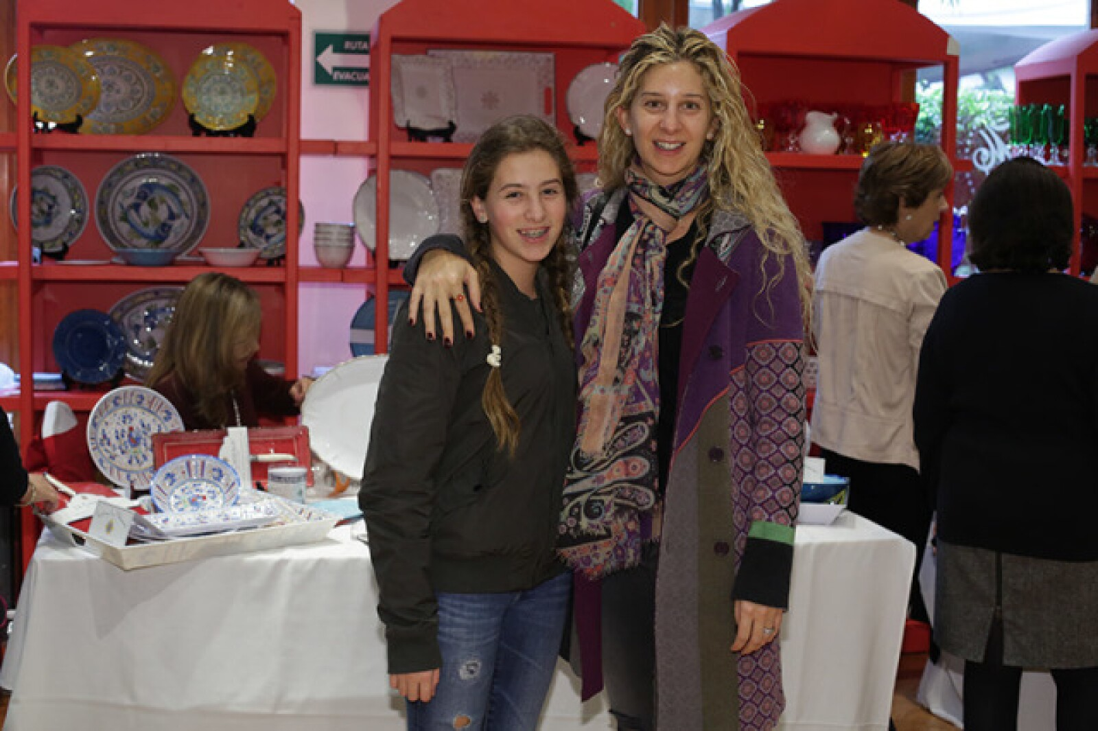 Alexia Becker y Tania Grinberg