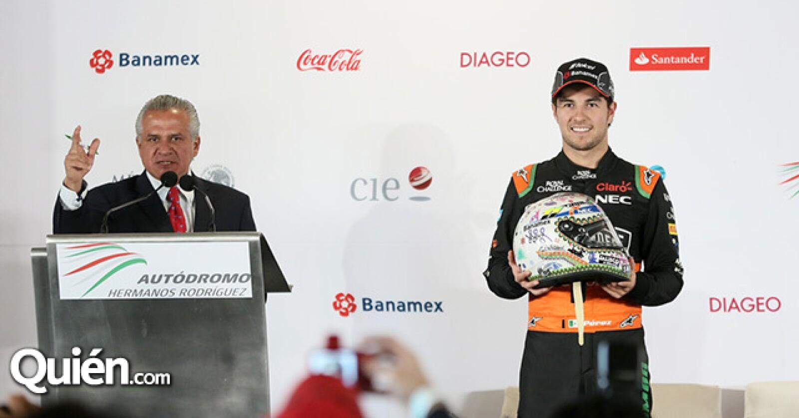 Héctor Alonso Rebaque y Sergio Pérez