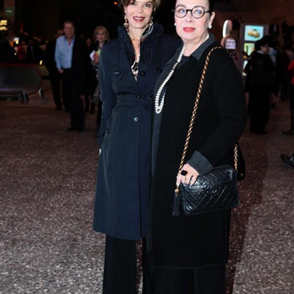 Ana Luisa Lerdo de Tejada y Beba Quijano