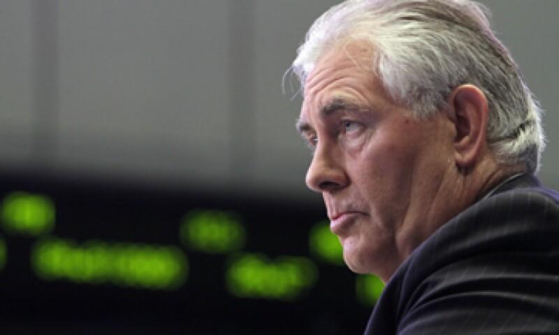 Rex Tillerson, CEO de Exxon Mobil donó casi 43,000 dólares de su propio dinero para el Comité Nacional Republicano y los candidatos de ese partido político. (Foto: AP)