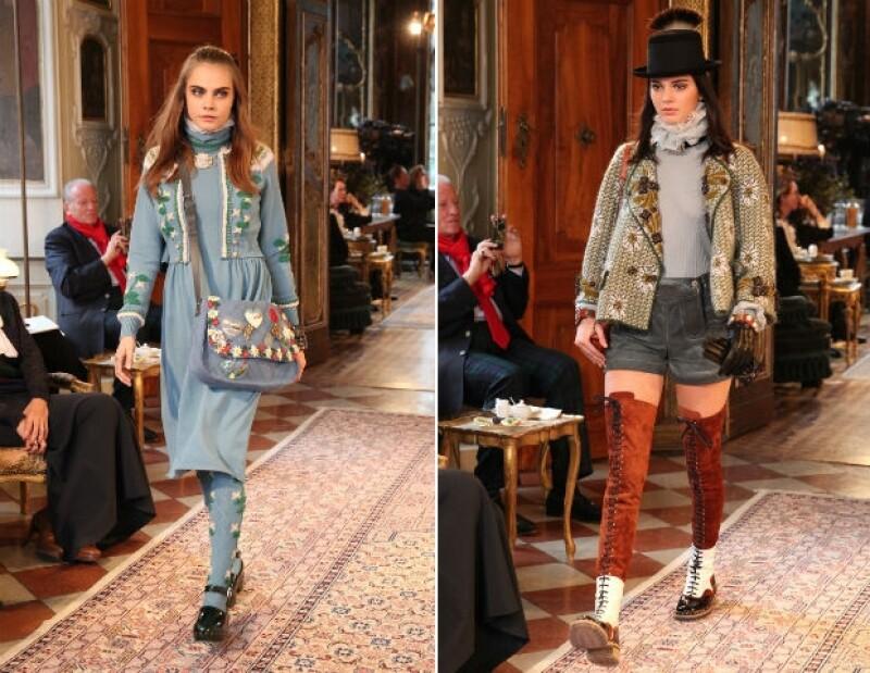 La pasarela mostró varias prendas para la colección de la marca para iniciar el 2015.