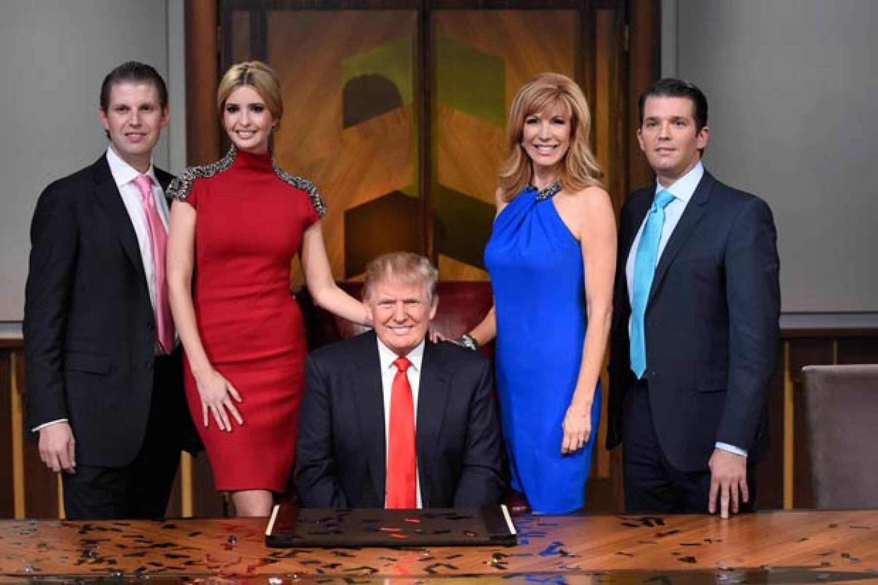 Los hijos de Donald Trump lo apoyan en todo momento incluso tras las declaraciones que realizó el empresario que le han cerrado varios negocios.