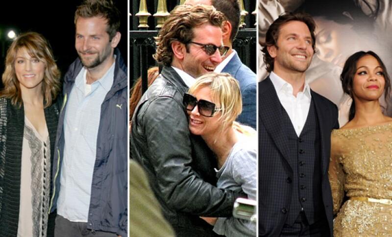 Algunas de las muchas parejas con las que Bradley ha sido visto.