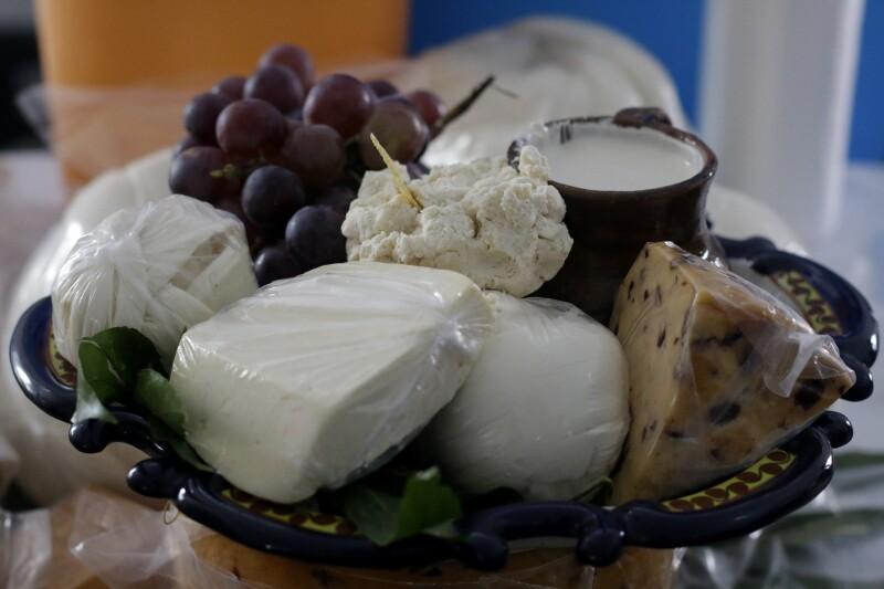 Mantiene su queso manchego