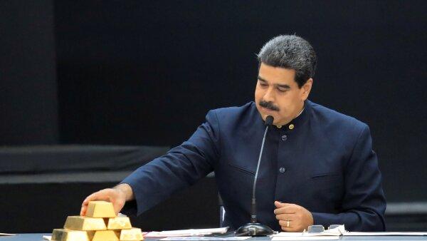Venezuela reservas de oro Banco de Inglaterra