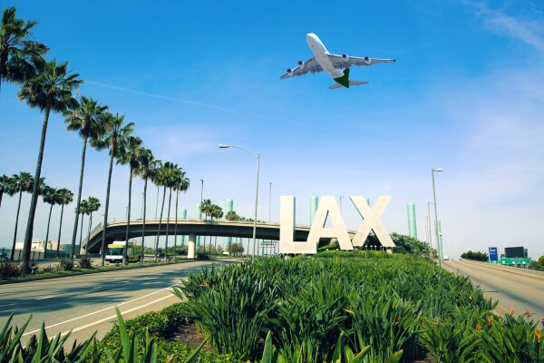 Aeropuerto los ángeles