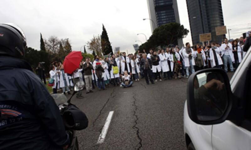 Las duras medidas de austeridad en España han multiplicado las protestas en todo el país. (Foto: Reuters)