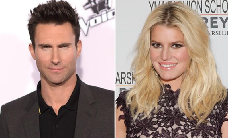 Se rumora que fue Adam el que rompiera con Jessica después de un encuentro casual en Chateau Marmont.