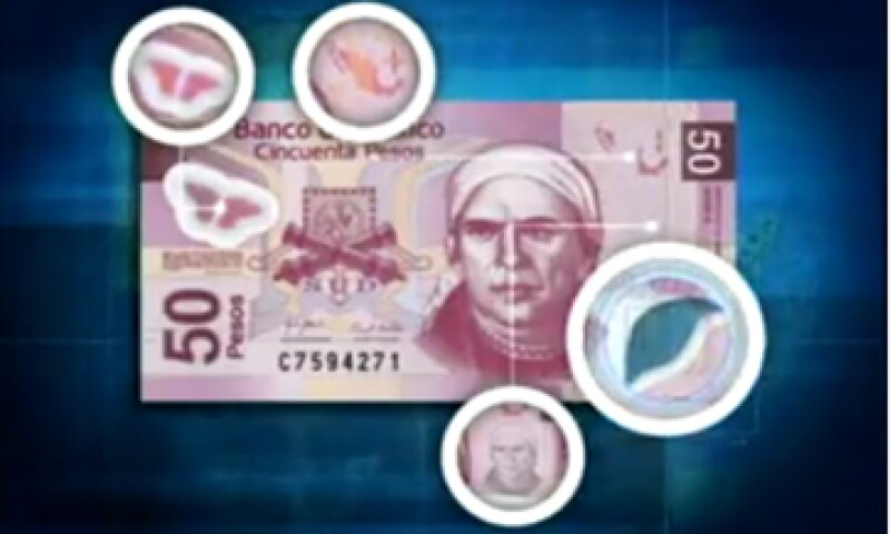 Banxico aseguró que hay una una mayor conciencia por parte de los mexicanos de revisar los billetes. (Foto tomada de banxico.org.mx)