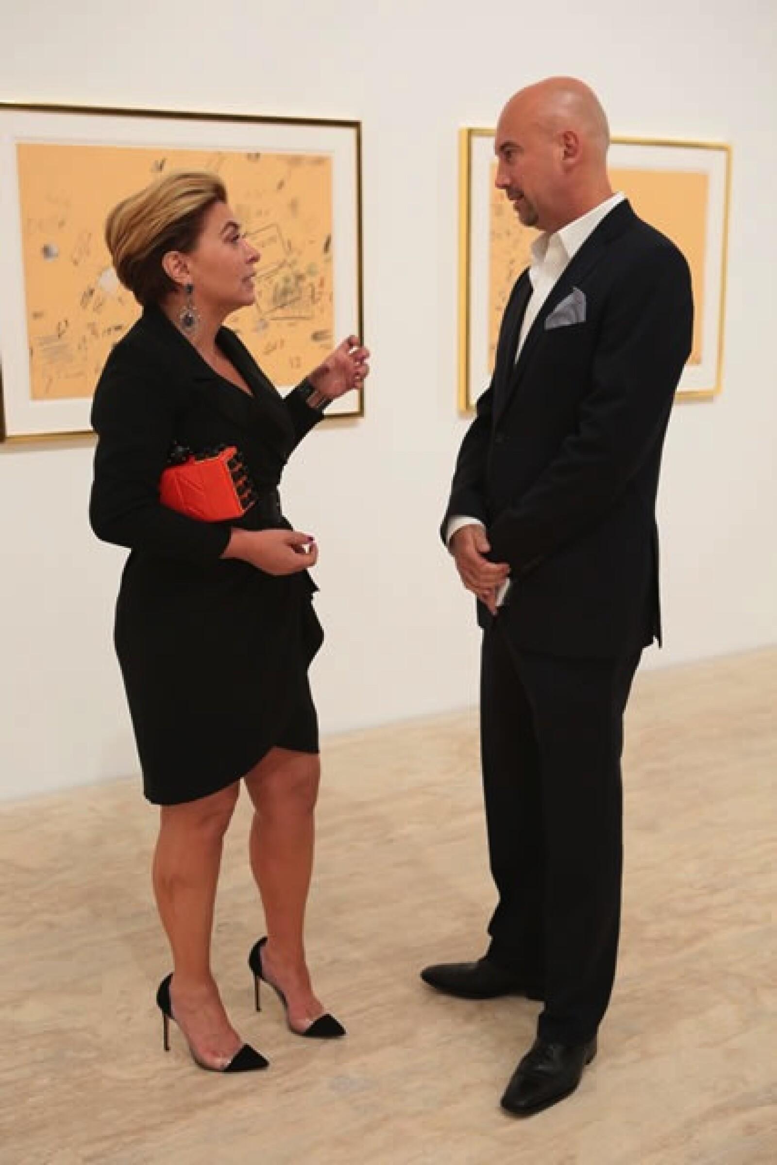 Verónica García y Roberto Torres.