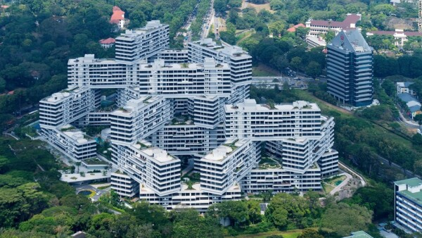 The Interlace (2008-13) por OMA y Ole Scheeren en Singapur