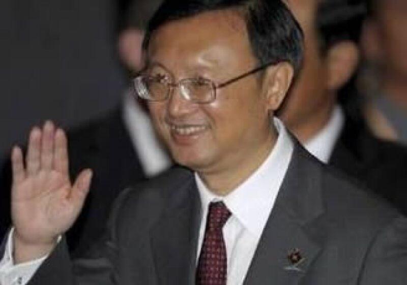 Yang Jiechi, ministro chino de Relaciones Exteriores, considera que se deben dar más apoyos a las naciones emergentes. (Foto: Reuters)