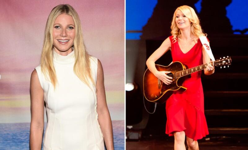 Aunque el cambio de Gwyneth fue imperciptible, sí subió varios kilos durante su interpretación.