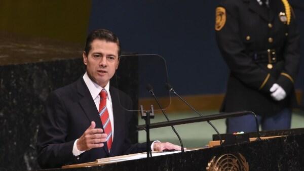 Enrique Peña Nieto ONU