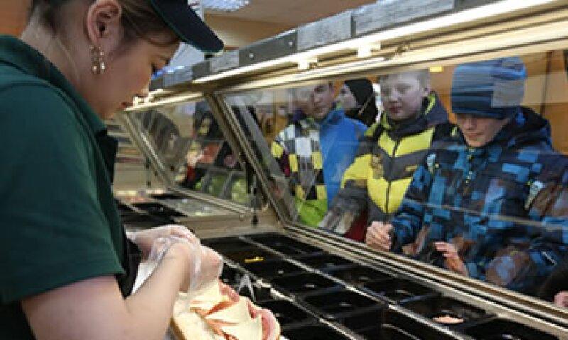 Subway tiene 1,000 establecimientos en México, 20% en el Distrito Federal. (Foto: Getty Images )