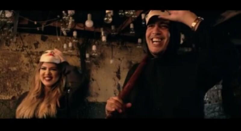 Khloé protagoniza el más reciente video musical de French Montana.