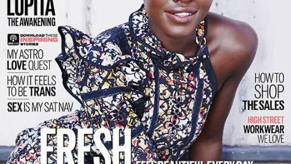 ELLE UK: Lupita Nyongo empieza el año con una increíble portada.