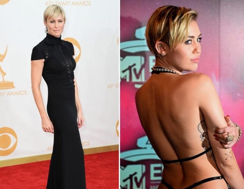 Robin Wright de 43 años continúa siendo uno de los rostros más bellos de Hollywood. Miley y su actitud la llevaron al lugar 99.
