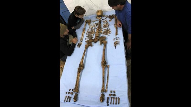 restos de un faraon desconocido hasta ahora