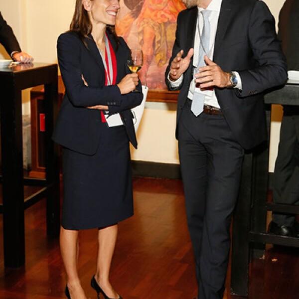 Sophie Brossard y Christoph Seibert