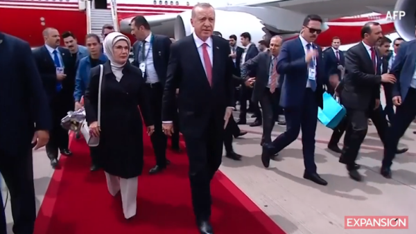 líderes llegan al G20