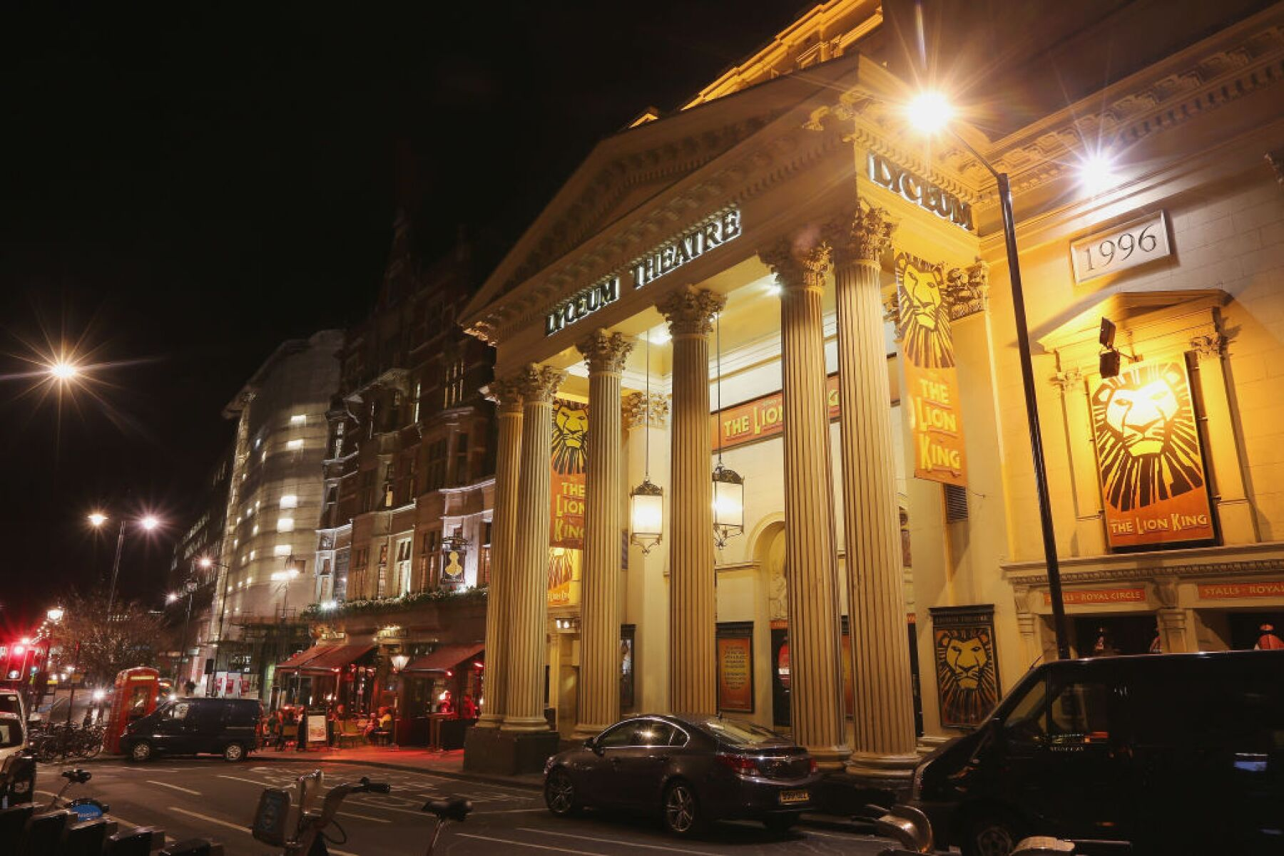 London's West End Theatres At Night