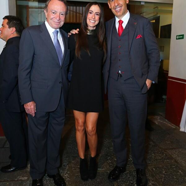Guillermo Ortiz, Paulina Mercado y Marco Ramírez