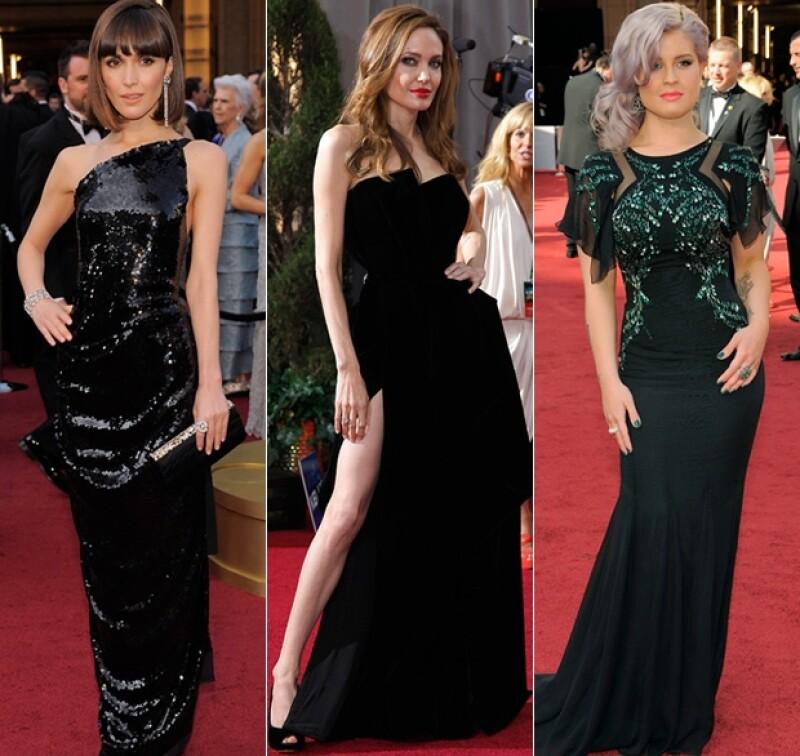Angelina Jolie, de lo mejor de la noche.