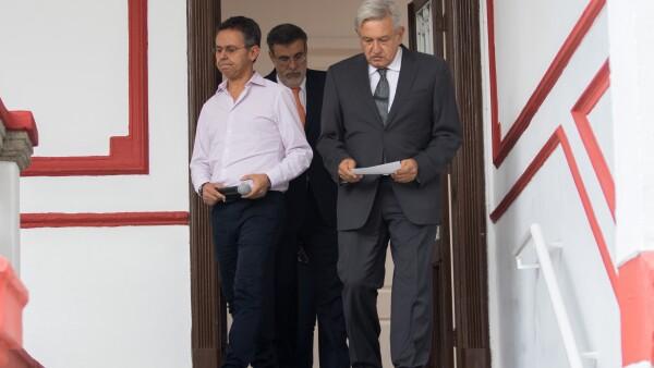 López Obrador y anuncio Corte