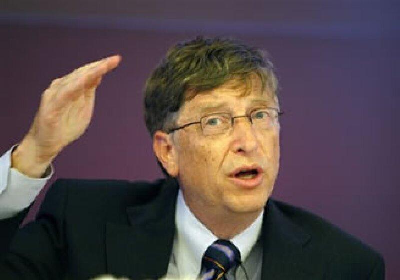 Bill Gates señaló que si bien la filantropía es importante, los gobiernos son aún la principal fuente de recursos del desarrollo y la cooperación. (Foto: AP)