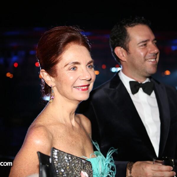 Lisette Trepaud y Héctor Pacheco