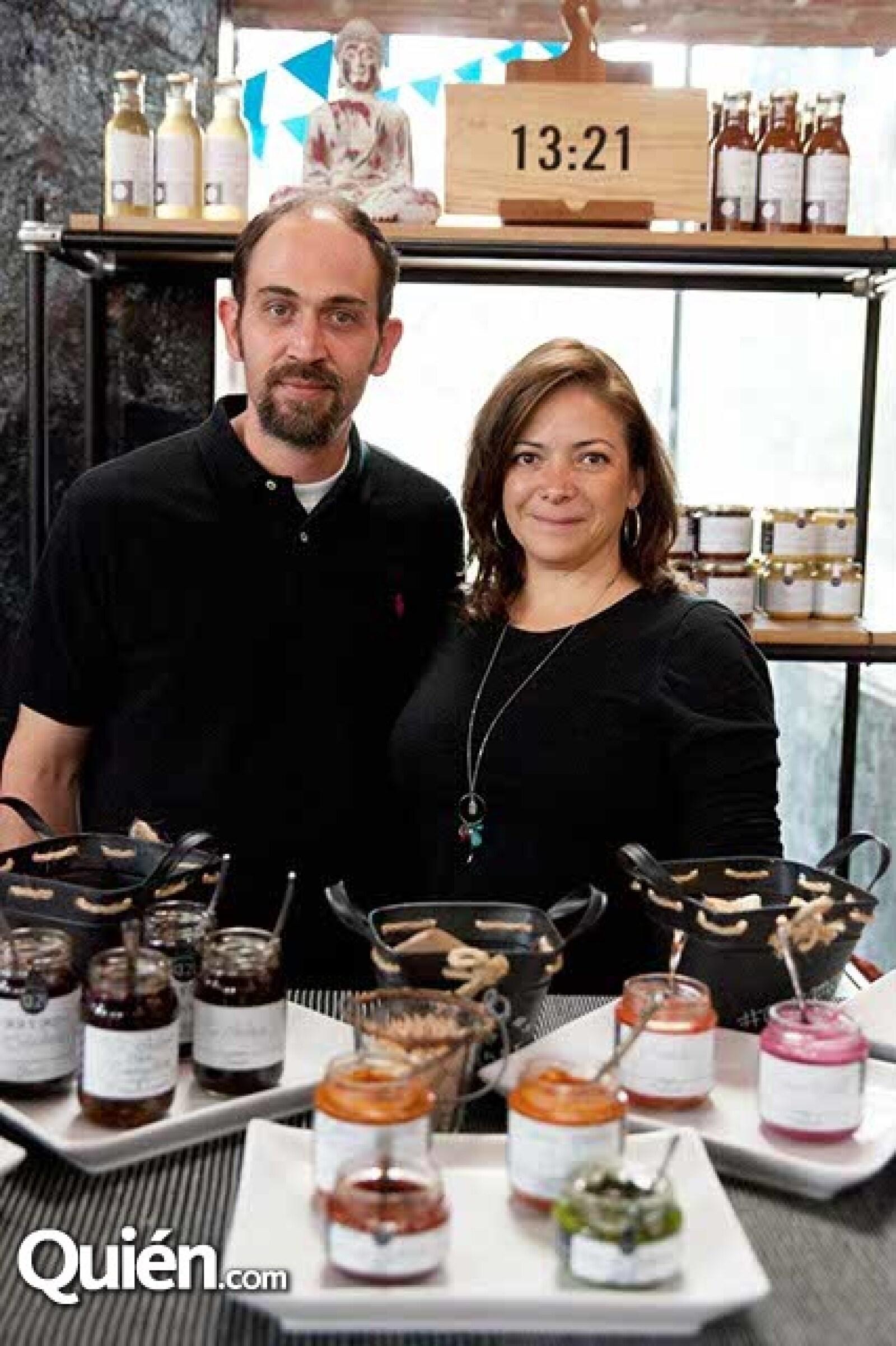 David Pablo y Ana Castañeda