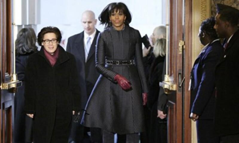 La primera dama, Michelle Obama prefiere las prendas creadas por jóvenes diseñadores. (Foto: Reuters)