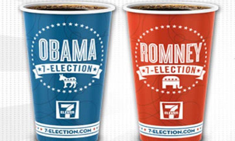 7-Eleven indica que sus clientes de Idaho y Virginia prefieren a Mitt Romney. (Foto tomada de 7-eleven.com)