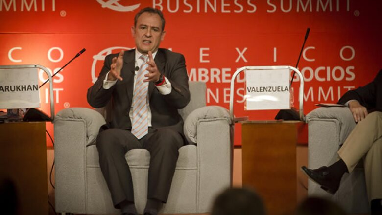 """El embajador mexicano en Washington pidió aplicar """"una capa de teflón"""" para que el """"ruido"""" por los procesos electorales en México y EU no afecte  a la relación."""