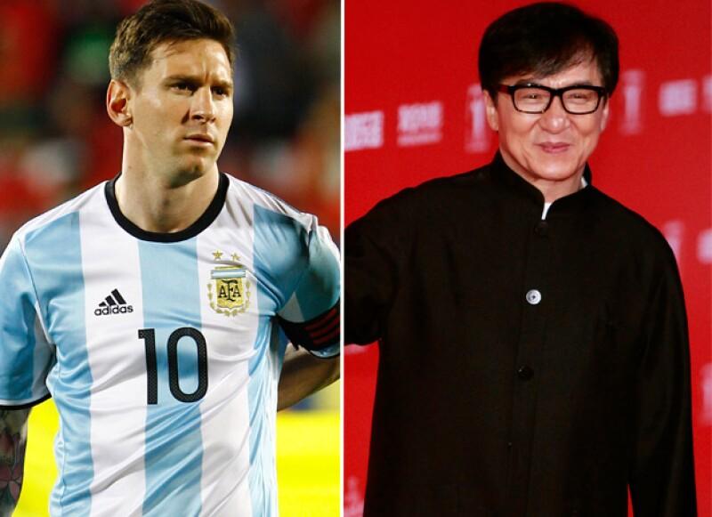 Los nombres de Lionel Messi y Jackie Chan también salieron a la luz en la investigación.