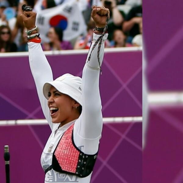 aida roman tiro con arco mexico londres 2012 juegos olimpicos