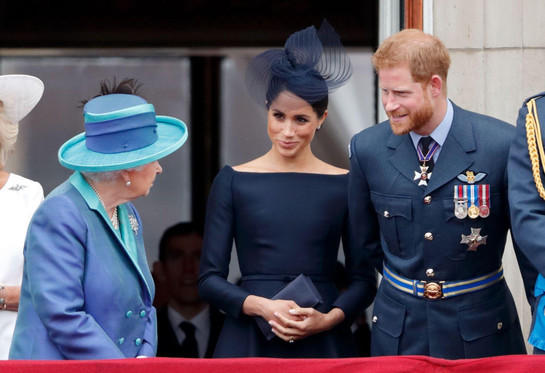 Reina Isabel no supera lo que le han hecho Meghan Markle y el príncipe Harry.