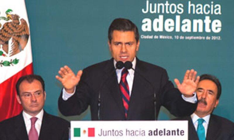 El presidente electo, Enrique Peña Nieto, visitará Brasil, la siguente semana. (Foto: Notimex)