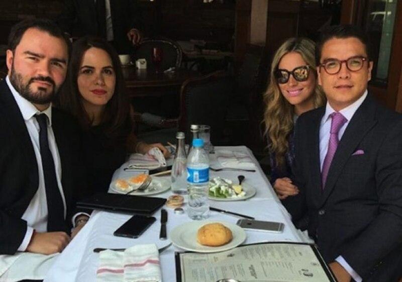 Esta es la foto que ha estado circulando por las redes sociales de Gerardo y Mariana.