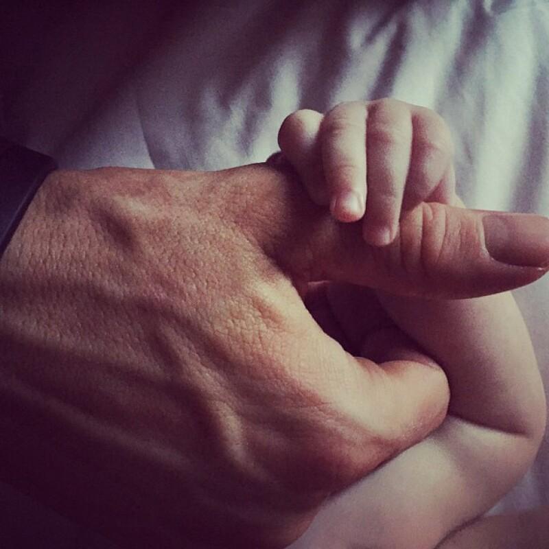 """Su hija apenas tiene nueve meses, pero la palabra """"mamá"""" ha sido una de las primeras."""