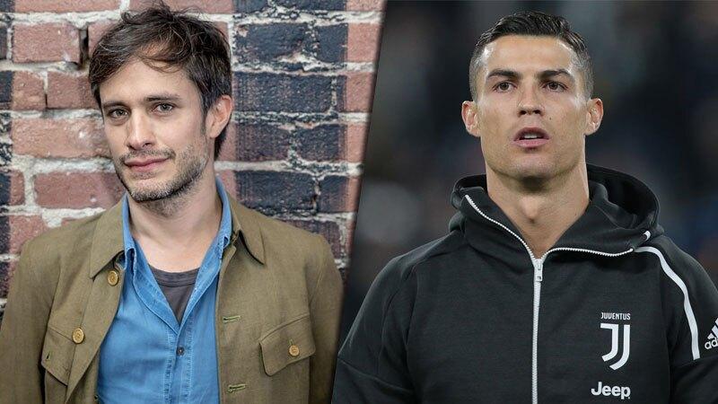 Gael García y Cristiano Ronaldo