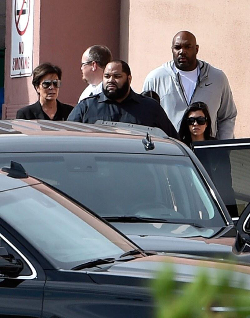 La estrella televisiva ha despedido a todos sus guardias de seguridad después de que un extraño consiguiera colarse en su casa este martes.