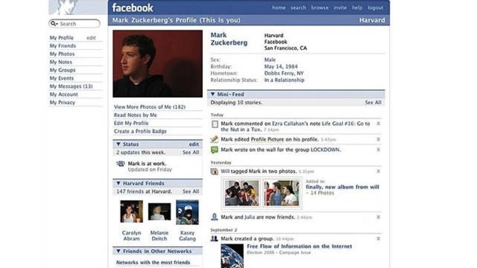 seprtiembre 2005 facebook.com